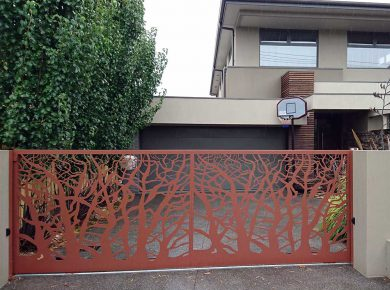 Stylish Automatic sliding gates Melbourne