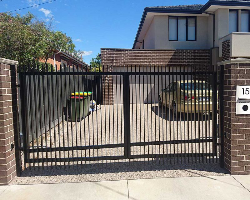 Galvanized Steel Gates And Fences Melbourne Australiana