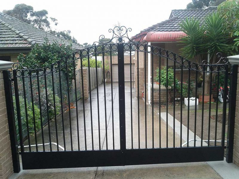 Residential Swing Gates Melbourne Australiana Gates And