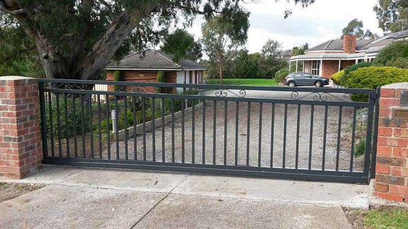 Residential Sliding Gates Melbourne Australiana Gates